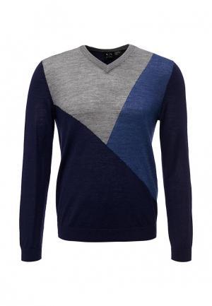 Пуловер Armani Exchange. Цвет: синий
