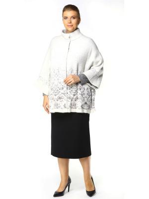 Пальто SHE'SSO. Цвет: белый, серый