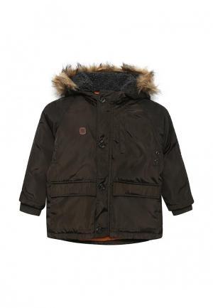 Куртка утепленная Lemon Beret. Цвет: коричневый