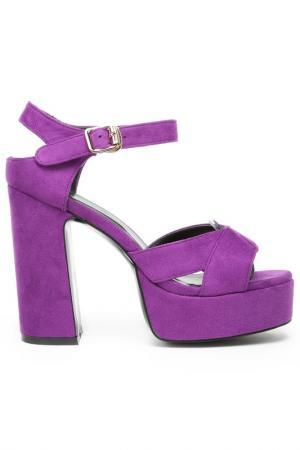 Босоножки Grand Style. Цвет: фиолетовый