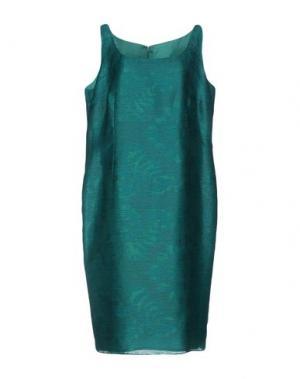 Платье до колена CAILAN'D. Цвет: изумрудно-зеленый