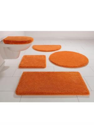 Коврик для ванной Jambi MY HOME. Цвет: бирюзовый, оранжевый, светло-зеленый, серый, синий, темно-серый, терракотовый