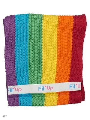 Слинг-шарф FilUp L-XL RAINBOW  Радуга FIL'UP. Цвет: синий, оранжевый, салатовый
