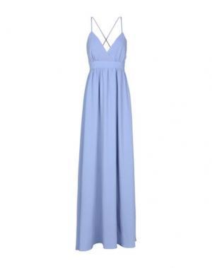 Длинное платье DRY LAKE.. Цвет: сиреневый