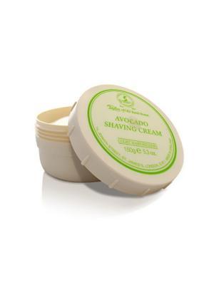 Крем для бритья Avocado Shaving Cream Bowl 150гр Taylor of Old Bond Street. Цвет: молочный