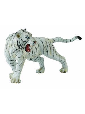 Белый тигр XL Collecta. Цвет: белый