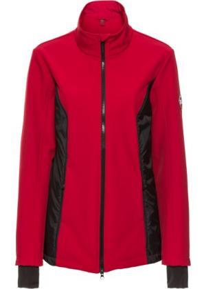 Куртка-софтшелл с жилеткой 3 в 1 (темно-красный) bonprix. Цвет: темно-красный