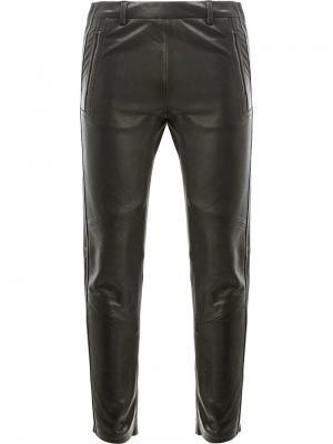 Укороченные брюки Ilaria Nistri. Цвет: чёрный