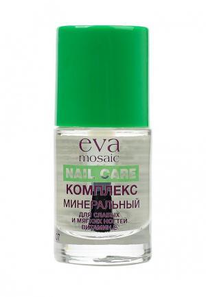 Средство по уходу за ногтями Eva Mosaic. Цвет: белый