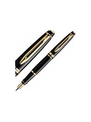 Ручка перьевая EXPERT Black GT Waterman. Цвет: черный