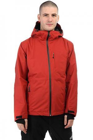 Куртка  Parkkiller Bordo Anteater. Цвет: бордовый