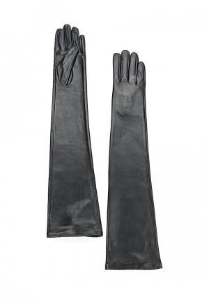 Перчатки MAISONQUE. Цвет: черный