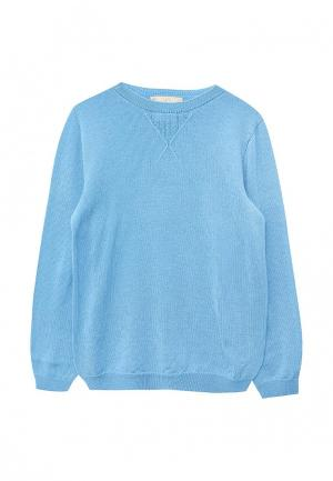 Пуловер R&I. Цвет: голубой