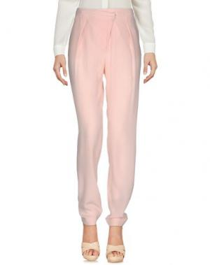 Повседневные брюки GENNY. Цвет: розовый