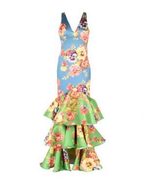 Длинное платье LEITMOTIV. Цвет: грифельно-синий