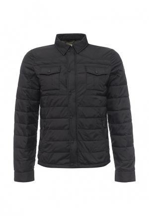 Куртка утепленная Rifle. Цвет: черный