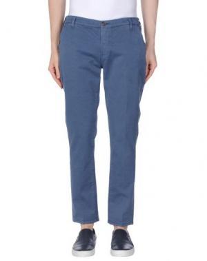 Повседневные брюки TRUE NYC.. Цвет: пастельно-синий