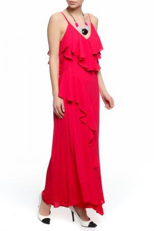 Платье XS MILANO. Цвет: малиновый