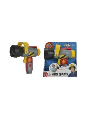 Пожарный Сэм, Водное оружие, 17см, 6/72 Simba. Цвет: желтый, красный, серый