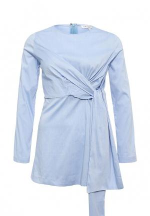 Блуза Art Love. Цвет: голубой