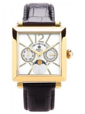 Часы 21165-02 Royal London. Цвет: темно-коричневый, золотистый