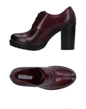Обувь на шнурках DONNA PIÙ. Цвет: красно-коричневый