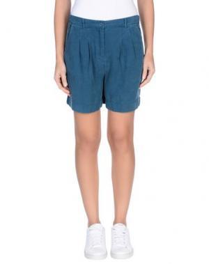 Повседневные шорты NICE THINGS by PALOMA S.. Цвет: пастельно-синий