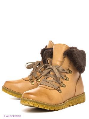 Ботинки Spur. Цвет: светло-коричневый