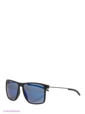 Солнцезащитные очки Porsche Design. Цвет: темно-серый