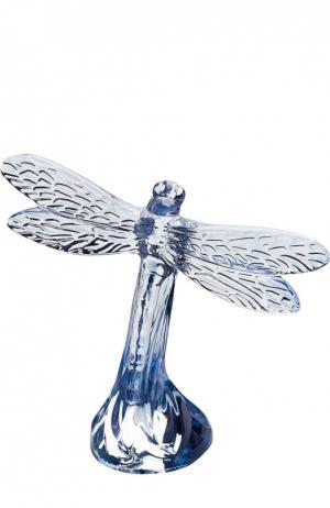 Скульптура Dragonfly Lalique. Цвет: бесцветный