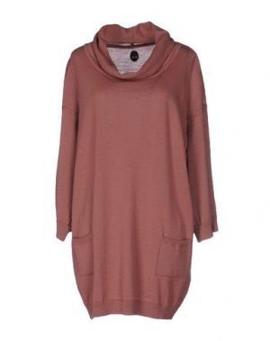 Короткое платье NOLITA. Цвет: пастельно-розовый