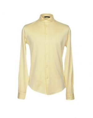 Pубашка GRAN SASSO. Цвет: желтый