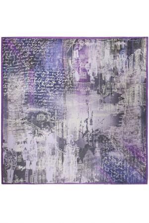 Платок 135х135 Eleganzza. Цвет: фиолетовый