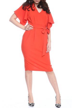 Платье Moda di Chiara. Цвет: оранжевый