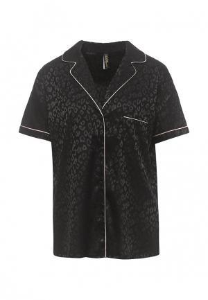 Рубашка домашняя Love Republic. Цвет: черный
