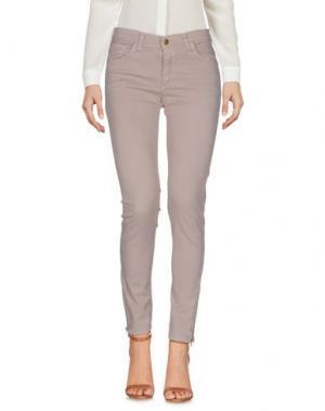 Повседневные брюки LA PETITE FRANCAISE. Цвет: бежевый