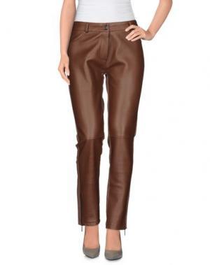 Джинсовые брюки PAULIE. Цвет: хаки