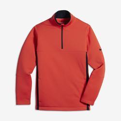 Футболка для гольфа с длинным рукавом мальчиков школьного возраста  rmal Half-Zip 2.0 Nike. Цвет: оранжевый