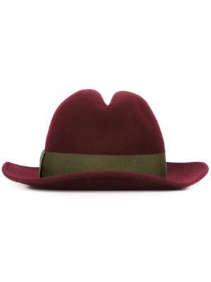Фетровая шляпа Antonio Marras. Цвет: розовый и фиолетовый