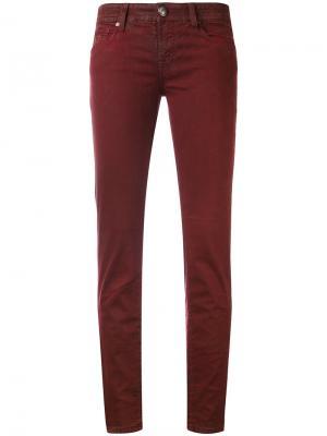Укороченные облегающие джинсы Jacob Cohen. Цвет: красный