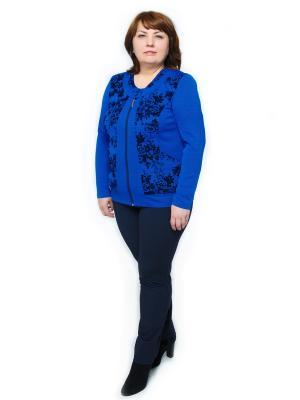 Жакет Левлада. Цвет: синий