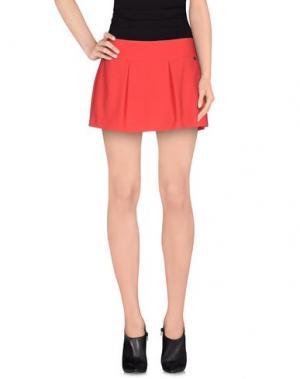 Мини-юбка FLY GIRL. Цвет: красный