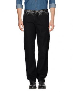 Повседневные брюки RA-RE. Цвет: стальной серый