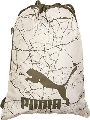 Мешок для обуви Originals Gym Sack PUMA. Цвет: светло-бежевый