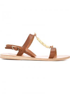 Сандалии Doriki Ancient Greek Sandals. Цвет: коричневый