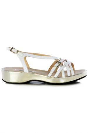 Sandals Luciano Padovan. Цвет: white