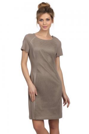 Платье Tuzzi. Цвет: бежевый