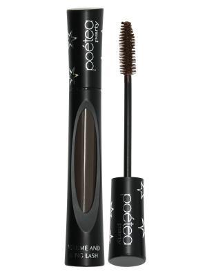 Тушь POETEA PARTY Long lashes (удлинение), коричневая POETEQ. Цвет: коричневый