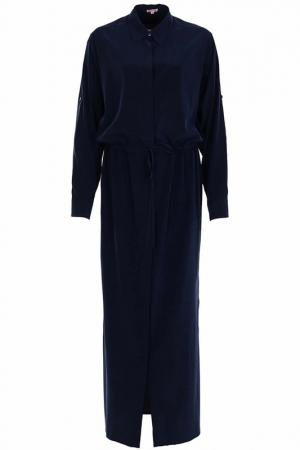 Платье P.A.R.O.S.H.. Цвет: темно-синий