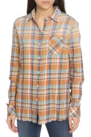 Рубашка Scotch&Soda. Цвет: brown, коричневый